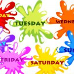 Хүснэгтэн календараас амралтын өдөр тодорхойлох техник
