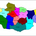 Excel программ дээр Монгол газрын зурагт суурилсан график үүсгэх нь